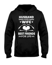 HUSBAND and WIFE FOR LIFE Hooded Sweatshirt front
