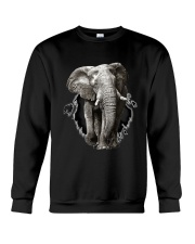 3D Elephants Crewneck Sweatshirt thumbnail
