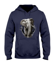 3D Elephants Hooded Sweatshirt thumbnail