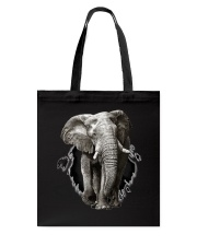 3D Elephants Tote Bag thumbnail