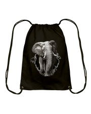 3D Elephants Drawstring Bag thumbnail