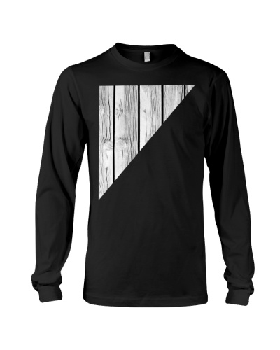 Woodworking t-shirt - Black And White Wood