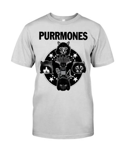 Funny Cat Purrmones shirt