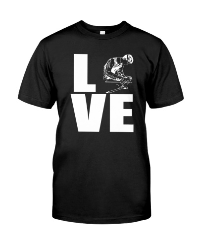Woodworking T-Shirt Gift Love Woodworking