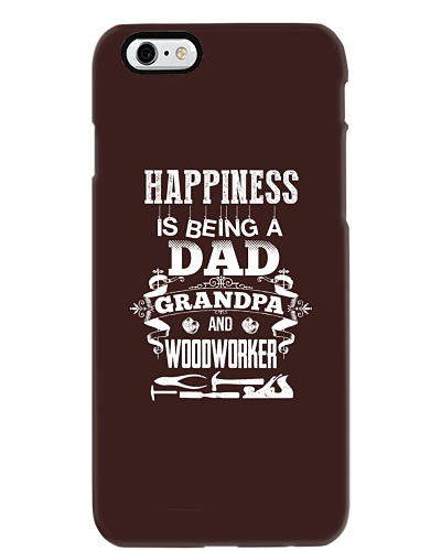 happy is being a dad - grandpa and woodworker
