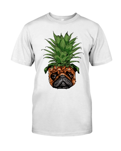Pug Funny - Pineapple Pug Shirt