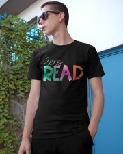Let's Read Classic T-Shirt apparel-classic-tshirt-lifestyle-17