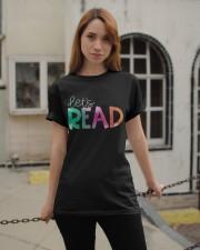 Let's Read Classic T-Shirt apparel-classic-tshirt-lifestyle-19