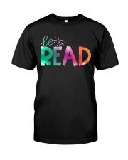 Let's Read Classic T-Shirt front