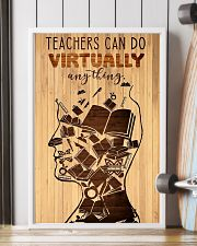 Teachers can do virtually anything 11x17 Poster lifestyle-poster-4