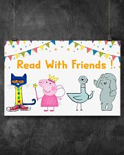 Read with Friends 17x11 Poster poster-landscape-17x11-lifestyle-12