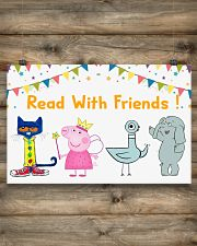 Read with Friends 17x11 Poster poster-landscape-17x11-lifestyle-14