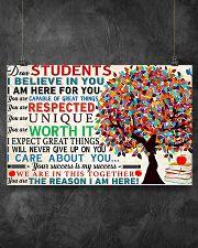 Dear students 17x11 Poster poster-landscape-17x11-lifestyle-12