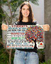 Dear students 17x11 Poster poster-landscape-17x11-lifestyle-19