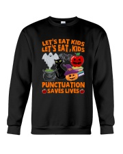 English Teacher Halloween Crewneck Sweatshirt tile