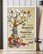 I have lived a thousand lives 11x17 Poster lifestyle-poster-4