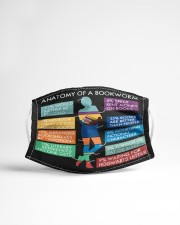 Anatomy of a Bookworm Cloth face mask aos-face-mask-lifestyle-22