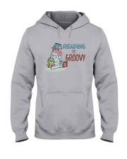 Reading is groovy Hooded Sweatshirt tile
