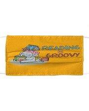 Reading is groovy Mask tile