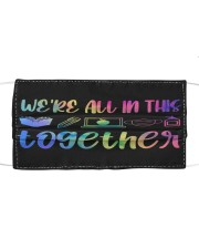 Together Cloth face mask front