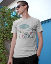 We are in kindergarten Classic T-Shirt apparel-classic-tshirt-lifestyle-17