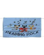 Reading Rock Cloth face mask front