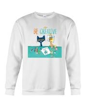 Art Teacher Crewneck Sweatshirt tile