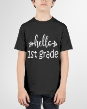 Hello 1st grade Youth T-Shirt garment-youth-tshirt-front-01