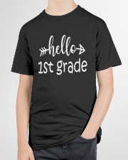 Hello 1st grade Youth T-Shirt garment-youth-tshirt-front-lifestyle-01