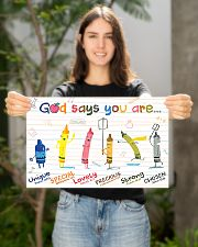 God say you are 17x11 Poster poster-landscape-17x11-lifestyle-19