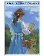 Just A Girl Who Loves Books 11x17 Poster front