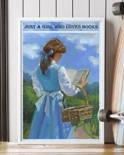 Just A Girl Who Loves Books 11x17 Poster lifestyle-poster-4