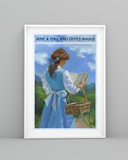 Just A Girl Who Loves Books 11x17 Poster lifestyle-poster-5