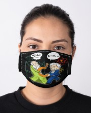 Math Funny Cloth face mask aos-face-mask-lifestyle-01