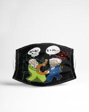 Math Funny Cloth face mask aos-face-mask-lifestyle-22