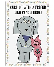 A friend and read a books 11x17 Poster front