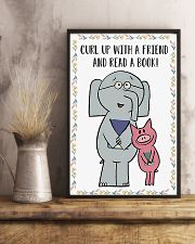 A friend and read a books 11x17 Poster lifestyle-poster-3
