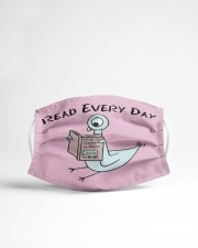 Read every day Cloth face mask aos-face-mask-lifestyle-22