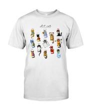 Art Cat Classic T-Shirt tile