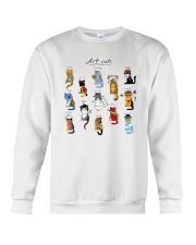 Art Cat Crewneck Sweatshirt tile