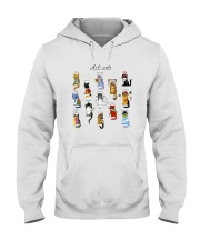Art Cat Hooded Sweatshirt tile