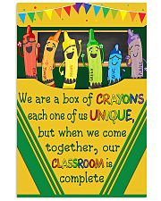 Crayons 11x17 Poster front