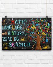 Math Language 17x11 Poster poster-landscape-17x11-lifestyle-17
