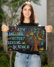 Math Language 17x11 Poster poster-landscape-17x11-lifestyle-19