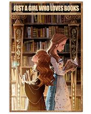 I love Books 11x17 Poster front