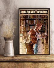 I love Books 11x17 Poster lifestyle-poster-3