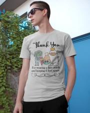 Thank You  Classic T-Shirt apparel-classic-tshirt-lifestyle-17