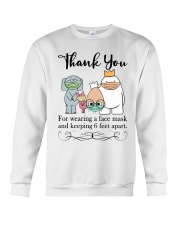 Thank You  Crewneck Sweatshirt tile