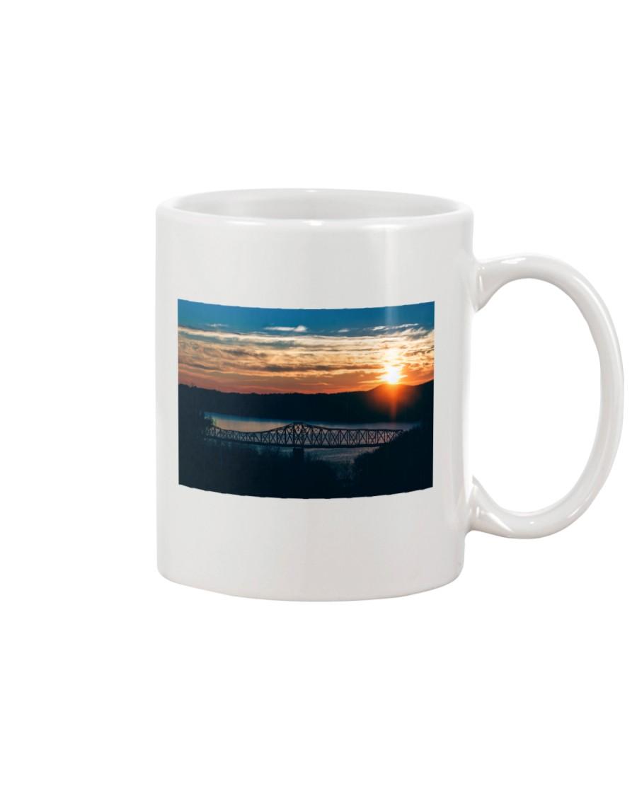 Fire Sky Crossing home  Mug