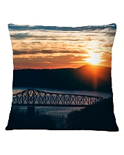 Fire Sky Crossing home  Square Pillowcase thumbnail